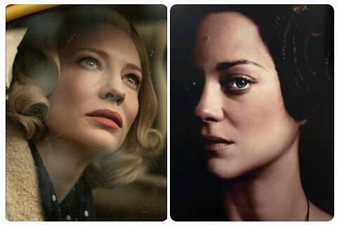 Cate Blanchett e Marion Cotillard dão vida a duas personagens literárias em dois filmes que estarão em Cannes: Carol Aird e Lady Macbeth, respectivamente. (Divulgação)