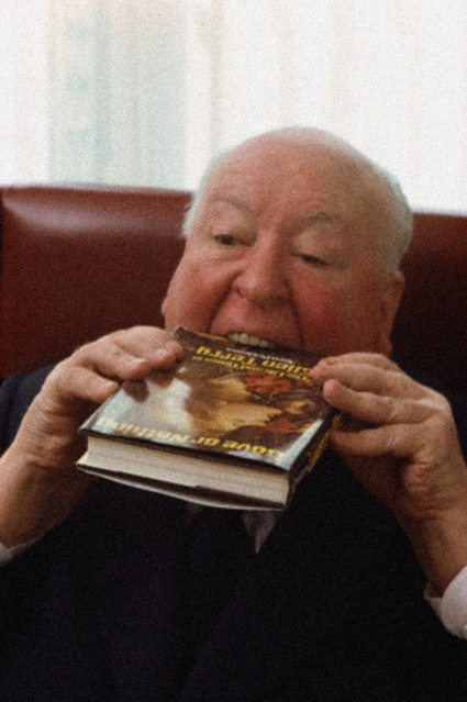 Alfred Hitchcock devorou todo o livro, literalmente!