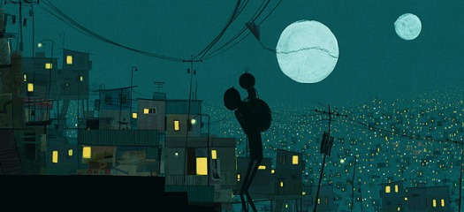 """Cena da animação indicada ao Oscar """"O Menino e o Mundo""""."""